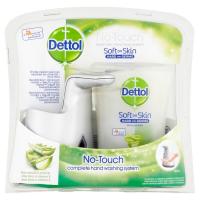 DETTOL Bezdotykový dávkovač mýdla Aloe Vera a vitamín E (250 ml)