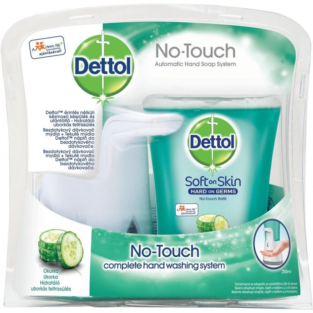 DETTOL Bezdotykový dávkovač mýdla Okurka (250 ml)