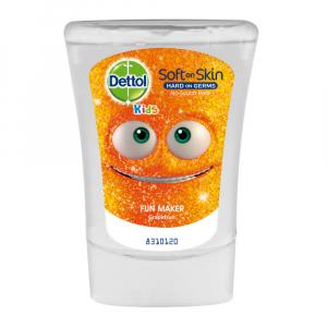 DETTOL Kids Náplň do bezdotykového dávkovače mýdla Bavič (250ml)