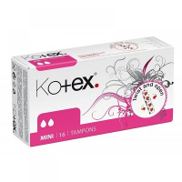 KOTEX Tampóny Mini 16 ks