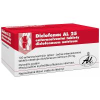DICLOFENAC AL 25 25MG 100 tablet