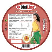 DIETLINE Hovězí maso s mrkví 280 g