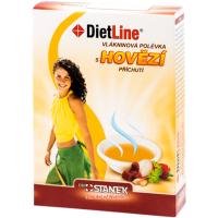 DIETLINE Vlákninová polévka S hovězí příchutí 3 sáčky