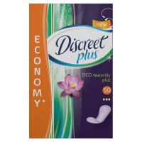 DISCREET Plus Waterlily Prodyšné Intimky 50 ks