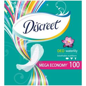 DISCREET Multiform Waterlily prodyšné intimky 100 ks