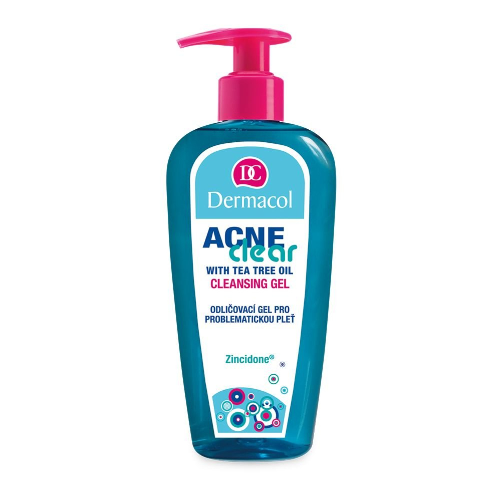 Dermacol AcneClear čisticí gel Cleansing Gel 200ml
