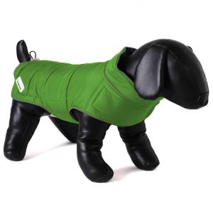 Doodlebone oboustranná zimní bunda, zelená/oranžová, velikost XL