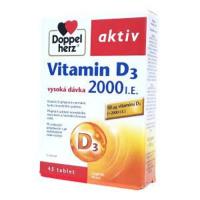 DOPPEL HERZ Vitamin D3 2000 I.E. 45 tablet