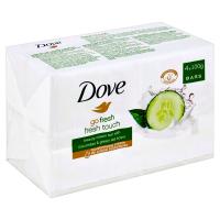 DOVE Go Fresh Okurka&Zelený čaj tuhé mýdlo 4x100 g