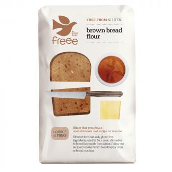 DOVES FARM-FREEE Chlebová směs tmavá bez lepku 1000 g