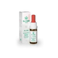 DR. CBD 5% CBD konopný olej natural 10 ml