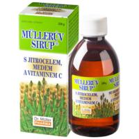 DR. MÜLLER Müllerův sirup s jitrocelem, medem a vitaminem C 320 g