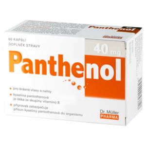 DR.MÜLLER Panthenol 40 mg 60 kapslí