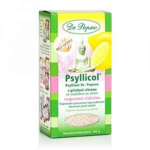 DR. POPOV Psyllicol s příchutí citronu 100 g