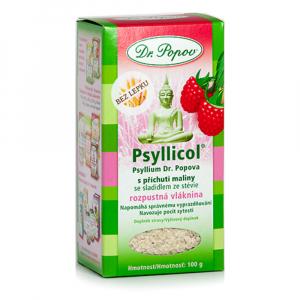 DR. POPOV Psyllicol s příchutí maliny 100 g