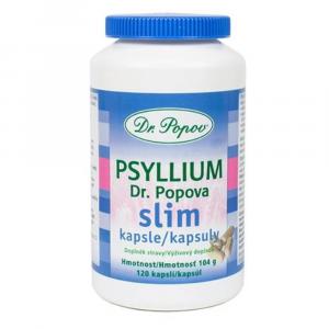 DR.POPOV Psyllium Slim 120 kapslí