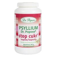 DR. POPOV Psyllium Stop cukr 120 kapslí