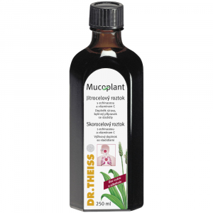 DR. THEISS MUCOPLANT Jitrocelový sirup s echinaceou a vitaminem C 250 ml