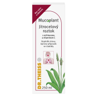 DR. THEISS MUCOPLANT Jitrocelový sirup s echinaceou a vitaminem C 250 ml