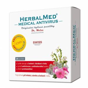 DR. WEISS HerbalMed Medical Antivirus 20 pastilek