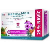DR. WEISS HerbalMed pastilky Echinacea + rakytník + vitamín C 24+6 pastilek