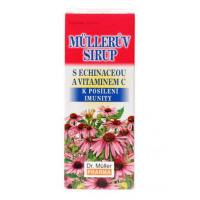DR. MÜLLER Müllerův sirup echinacea + vitamin C 320 g