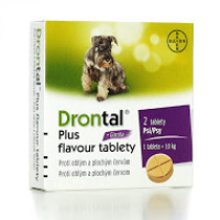 DRONTAL Plus flavour pro psy a.u.v. 2 tablety