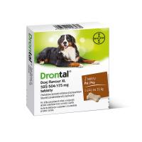 DRONTAL flavour pro psy nad 35 kg a.u.v. 2 tablety