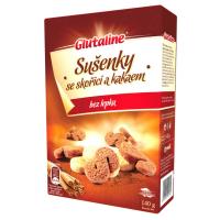 GLUTALINE Sušenky se skořicí a kakaem bez lepku 140 g