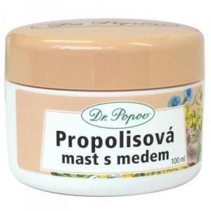 DR. POPOV Propolisová mast s medem 100 ml