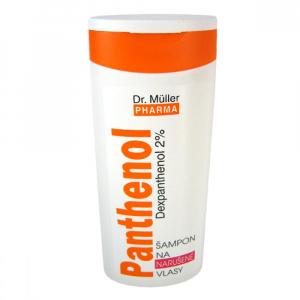 DR. MÜLLER Panthenol Šampon narušené vlasy 250 ml