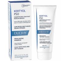DUCRAY Kertyol P.S.O. Pečující šampon navracející rovnováhu vlasové pokožce při psoriáze 200 ml