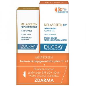 DUCRAY Melascreen Dépigmentant + UV leger ZDARMA