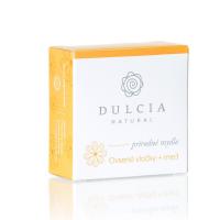 DULCIA Natural Přírodní mýdlo Ovesné vločky a med 90 g