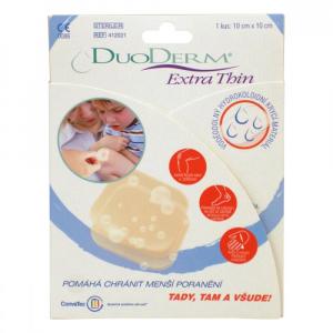 CONVATEC Duoderm Extra thin 10 x10 cm 1 ks