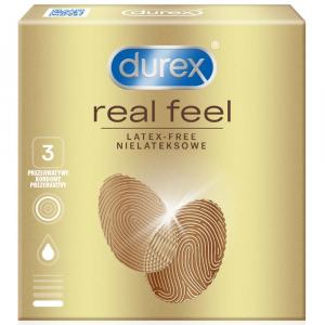 DUREX Prezervativ Real Feel 3 kusy