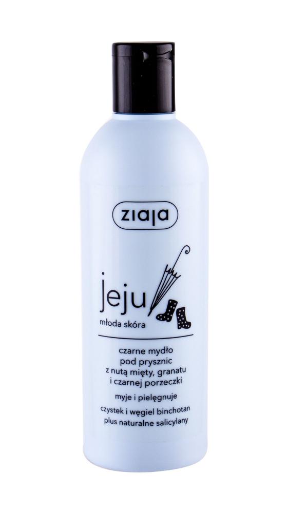 ZIAJA Jeju Černé sprchové mýdlo 300 ml