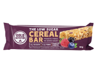 GOLD NUTRITION Low sugar cereal bar lesní plody 30 g