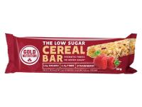 GOLD NUTRITION Low sugar cereal bar jahoda 30 g
