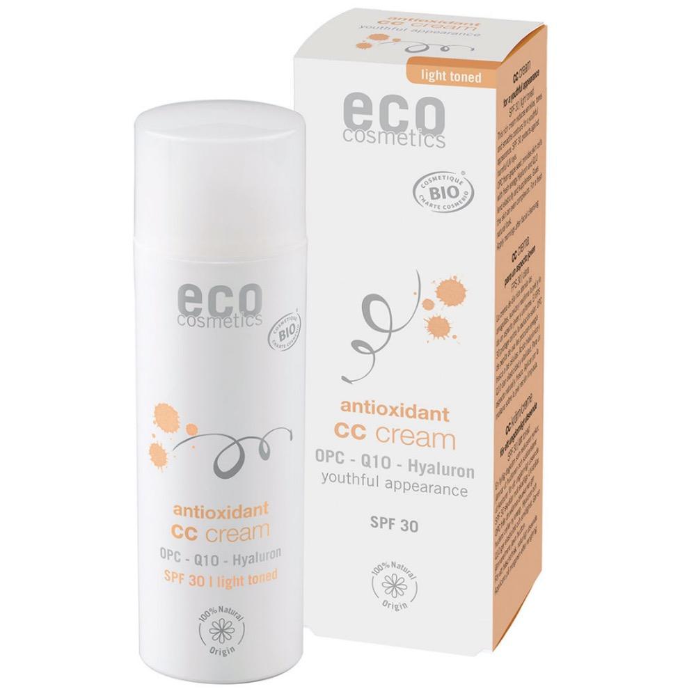 ECO COSMETICS CC krém SPF 30 Light 50 ml BIO