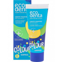 ECODENTA Toothpaste Colour Surprise Cavity Fighting zubní pasta 75 ml