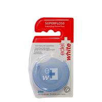 EDEL+WHITE Dentální nit Superfloss Expandující dentální nit 25 m