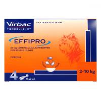 VIRBAC EFFIPRO pipety proti blechám a vším 4x0.67 ml