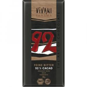 VIVANI EG hořká čokoláda 92%  80 g BIO