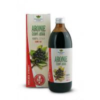 EKOMEDICA Aronie - černý jeřáb 100% šťáva 500 ml