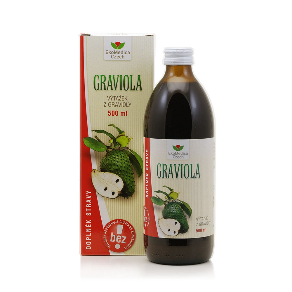 EkoMedica Graviola 100% šťáva 500 ml