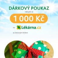 Elektronický dárkový poukaz v hodnotě 1000 Kč