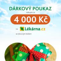 Elektronický dárkový poukaz v hodnotě 4000 Kč