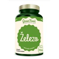 GREENFOOD NUTRITION Železo 60 kapslí