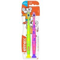 ELMEX Zubní kartáček pro děti 3-6 let 2 ks